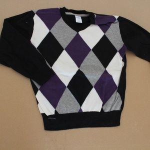 Gymboree Preppy Rocks Argyle Sweater Small